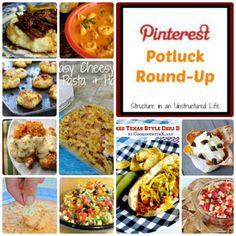 Pinterest Potluck Round-up