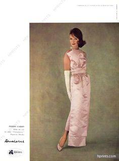 Pierre Cardin 1959 Evening Gown, Sabine Weiss, Ducharne