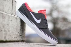 "Nike SB Zoom Stefan Janoski ""Laser Crimson"" | KicksOnFire.com"