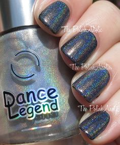 The PolishAholic: Dance Legend Top Prismatic Swatch & Review