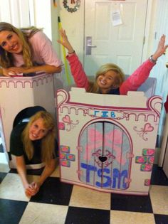 Sorority Castle is about to be in my apartment next year. Princesses like ZTA will live there!!!