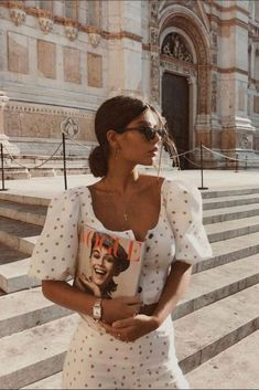 Looking for a perfect white dress for summer - summer fashion ideas - Summer Dresses Looks Street Style, Looks Style, My Style, Style Blog, Hippie Style, Dress For Summer, Summer Dresses, Maxi Dresses, Summer Time
