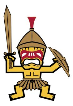 """The Trojan in the family is, OF COURSE, known as the """"TROJAN TIKI"""".  Fight on!"""