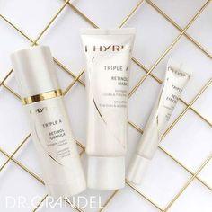 Kennen Sie TRIPLE A - das Retinol-Trio?   Retinol verbessert die Elastizität der Haut, schützt vor Austrocknung und wirkt gegen Falten. #drgrandel #augsburg #cosmetic #kosmetik #blogger #cosmeticblogger #love #post #picoftheday #beauty #inspiration #instablog #blog #beautyblog #instablog #blogger_de #triplea #retinol
