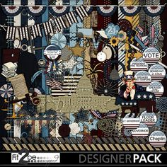 Enjoy these high quality designs by #Fit2beScrapped @MyMemoreis.com #DIgital #Creative #scrapbook #Craft #My_country_tis_of_thee