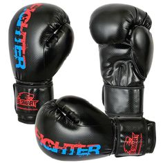 Gel Pro Boxing Gloves Bag Mitts MMA UFC Muay Thai Training Grappling Punch