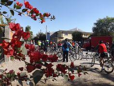 la naturaleza y los pedaleros