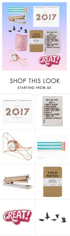 """""""Desk Goals 📚"""" by juhalves12 ❤ liked on Polyvore featuring interior, interiors, interior design, home, home decor, interior decorating, Rifle Paper Co, U Brands, Anya Hindmarch and Jayson Home"""