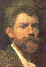 Krøyer-sektionen, selvportræt