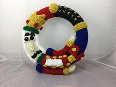 Nutcracker Wreath Crochet Pattern from Lisa Kingsley via Ravelry