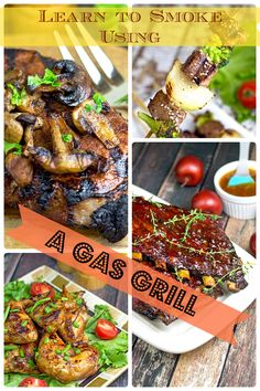 How To Smoke In Your Gas Grill #smokedfood #gasgrill #smoker