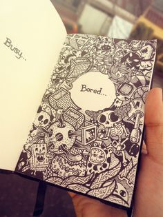 <> 2011-2012 DOODLES Batch 3 : Moleskin Drawings by Lei Melendres, via Behance Perfect for a Wreck-It-Journal