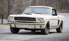 The 1966 Shelby GT350 remains as found after 40 years of secretive storage | Bonhams