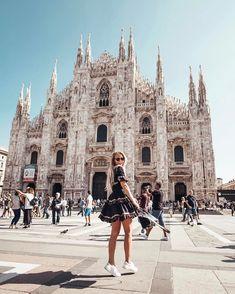 """Gefällt 64.4 Tsd. Mal, 355 Kommentare - Janni Delér (@jannid) auf Instagram: """"Milan here I come - soo excited! """""""