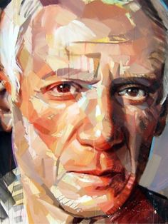 Pablo Picasso, by Pascal Vilcollet.