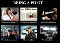 A humorous look at the life of a commercial pilot.