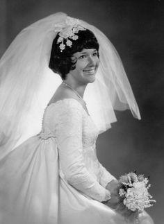 1970 vintage wedding photo