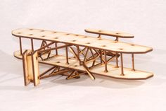 The+Wright+Flyer+(1903)+was+the+first+the+first+successful+powered+aircraft,+designed+and+built+by+the+Wright+Brothers+++Our+Model+is+made+from+3mm+Birch+Plywood+and+measures+approx+21cm+L+x+29cm+W+x+6cm+H+It+comes+complete+with+full+instructions+and+glue