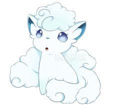 f7d7afaa Alolan Vulpix by MeliKitsune.deviantart.com on @DeviantArt Pokemon Sun,  Cute Pokemon
