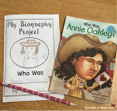 Biography Project for Grades 2-5 includes a Printable Booklet for students to write about the person's childhood, major accomplishments, lessons learned, overcoming obstacles and more.  Also includes poster template, a graphic organizer, journaling prompts, and common themes found in biographies notebook chart