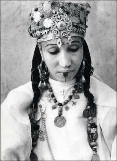Africa | Maghreb Jewish Woman | Photographer Jean Besancenot ?