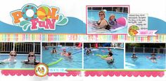 Pool Fun - Scrapbook.com