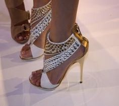 I THINK THESE ARE THE MOST GORGEOUS SHOES I'VE EVER LAID EYES ON.