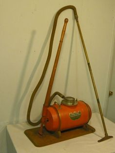 Antique Hand Powered Vacuum Cleaner