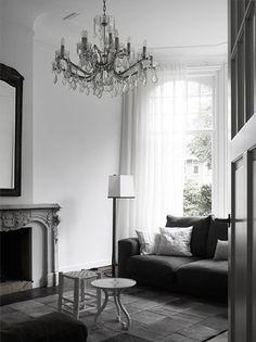 Interior designer Natasja Molenaars living room in Harlem, Netherland