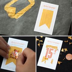 How to Make Scratch-Off Business Cards (+ Free Printables!) via Brit + Co.