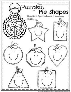 10 Printable Christmas Shapes Cutting Worksheets