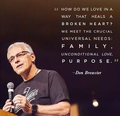 """How do we love in a way that heals a broken heart? We meet the crucial universal needs: family, unconditional love, purpose."" - Don Brewster, ‪#‎AboltionSummit2015‬ - Do you still choose to dance now your heart is broken? ...Encourage the dance of love heal your pain-go to http://www.psychicinstantmessaging.co.uk/pimpin3"