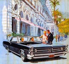 Art Fitzpatrick and Van Kaufman - 1963 Pontiac Grand Prix