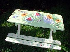 Best Picnic Table Paint Ideas
