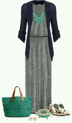 like the blouson dress and necklace