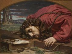 sherripage:  Florian Stanisław Cynk,   Christ Collapsing on the Cross   https://en.wikipedia.org/wiki/Florian_Cynk