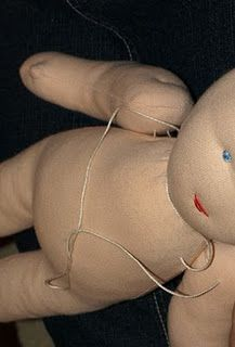 Sew the body of a Waldorf doll
