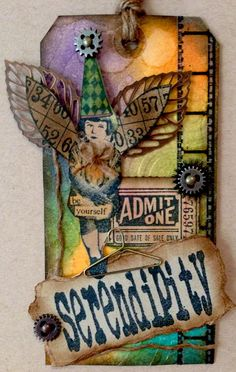 Other: Serendipity - Tim Holtz Inspired Tag