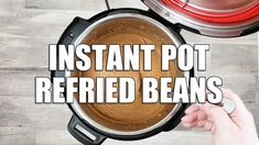 Slow Cooker Pinto Beans and Ham | Simply Happy Foodie Pressure Cooker Chicken, Slow Cooker Chicken, Chowder Recipes, Soup Recipes, Slow Cooker Recipes, Crockpot Recipes, Low Sodium Chicken Broth, Instant Pot Dinner Recipes, Pea Soup