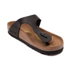 The Gizeh Sandal from Birkenstock will knock your socks off! Beat the heat with the Gizeh Sandal, featuring a classic design that's super durable, and crazy comfortable, for style that you can wear all day long.