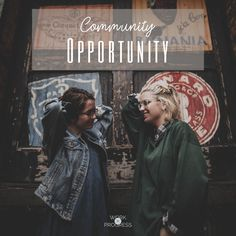 The disciples understood their place, their role, and their calling. They knew who they were. http://workinprogressblog.co/community-opportunity