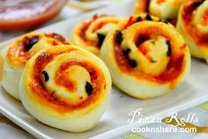 Pizza Rolls | Cook n' Share - World Cuisines