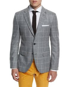 Hate the pants, love the windowpane jacket