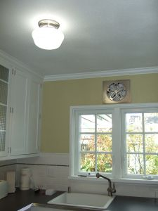 Laurelhurst Fan Company   Wall Exhaust Fan. Kitchen FanFans