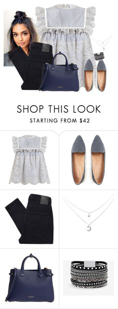 """""""Your song"""" by youngsmile on Polyvore featuring Zimmermann, Nobody Denim, Burberry and White House Black Market"""