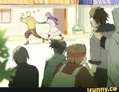 Naruto, Hinata, love, couple, Shikamaru, Choji, Sai, Kiba, Shino, older; Naruto