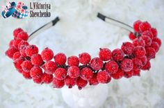 Turquoise and red by Maria Rumilova on Etsy