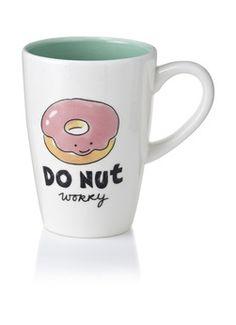 Donut XL Mug from Blond Amsterdam Blond Amsterdam, Pottery Lessons, Painted Coffee Mugs, Cute Cups, Kids On The Block, Cool Mugs, Posca, Funny Coffee Mugs, Ceramic Mugs