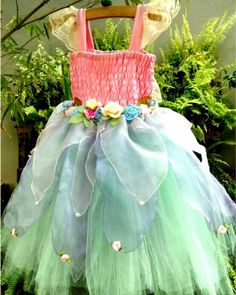 Vestido de fada por ateliê Mirian Rosa
