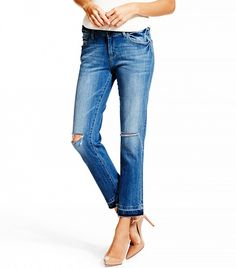 Nettle High Rise Cropped Jeans